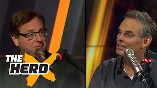 Download Bob Saget joins Colin Cowherd | THE HERD (FULL INTERVIEW) Video