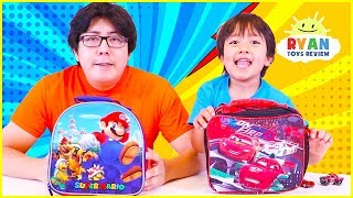 Download Back To School LunchBox Switch Up Challenge + BackPack Switch Up!!! Video