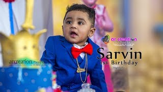 Download Little Prince Sarvin 1st Birthday celebration highlights Video