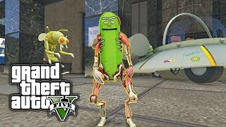 Download GTA 5 MOD - Pickle Rick! (Rick and Morty) Video