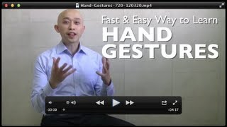Download Fast and Easy Way for How to Learn Hand Gestures in a Presentation Video