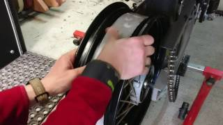 Download How to make tubeless a spoke wheel KTM LC4 Supermoto Video