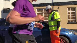 Download Woman drives car into path of half marathon runners Video