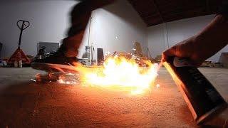 Download SPARK WHEELS VS TEFLON SPRAY | SKATEBOARD EXPERIMENTS EP 3 Video