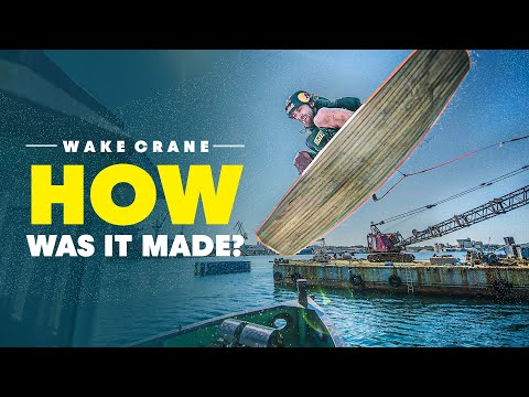 World's First Crane Wakeboarding Park | How Was It Made? | Red Bull