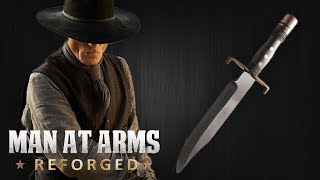 Download Man in Black's Bowie Knife - Westworld - MAN AT ARMS: REFORGED Video