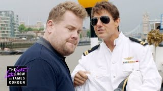 Download Tom's Cruise on the River Thames Corden Video