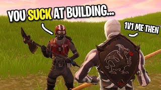 Download 7 YEAR OLD SAYS HE CAN BEAT ME IN A BUILD BATTLE... (Playground 1v1 Fortnite) Video