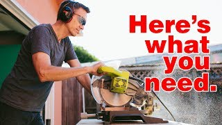 Download 7 Essential Power Tools for Beginning Woodworkers   Woodworking Basics Video