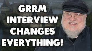 Download The GRRM Interview that completely CHANGES EVERYTHING we know about Game of Thrones! Video