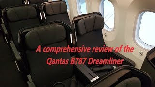 Download Qantas B787 Dreamliner full review business, premium and economy. MEL-PER QF775 Video