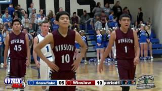 Download Winslow vs Snowflake Boys High School Basketball Full Game Video