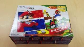 Download New 3ds Super Mario 3d Land Bundle Unboxing Video