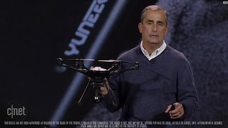 Download CNET News - Intel shows intelligent drone with Real Sense tech Video