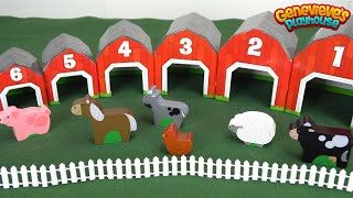 Download Best Preschool Learning Toys for Kids: Educational Farm Toy Teaches Kids Animal Names and Counting! Video