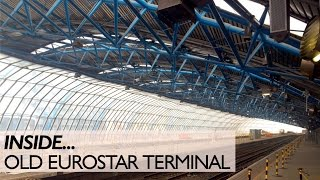 Download Inside The Old Eurostar Terminal Video