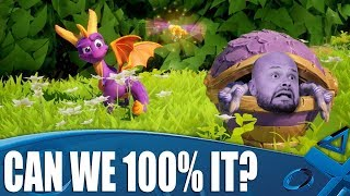 Download Spyro Reignited Trilogy - Can We 100% Each Level? Video