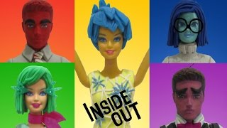 Download Play Doh INSIDE OUT Joy, Disgust, Fear, Anger, Sadness Inspired Costumes Video