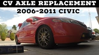 Download How to Replace CV Axles Honda Civic 2006-2011 Video