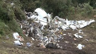 Download Cockpit recording suggests jet was low on fuel before Colombia crash Video