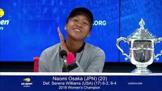 Download Naomi Osaka - Humble, Witty and very professional... way to go girl!!! Video