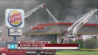Download Burger King fire Brown Deer Rd. Video
