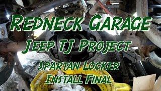 Download Jeep TJ Project - Spartan Locker - Install 2 Final - Dana 35 Video