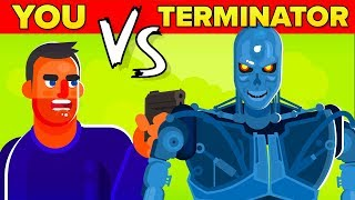 Download YOU vs THE TERMINATOR - Could You Defeat And Survive Him? (The Terminator Movie 2019) Video