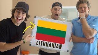 Download YOUTUBERS SPEAK LITHUANIAN! Video