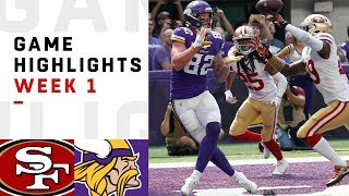 Download 49ers vs. Vikings Week 1 Highlights | NFL 2018 Video