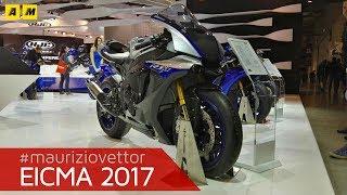 Download EICMA 2017 - Yamaha YZF-R1M 2018 [ENGLISH SUB] Video