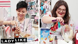 Download We Competed To Make The Best Protein Shake • Ladylike Video