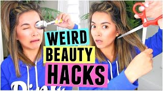 Download 6 WEIRD BEAUTY HACKS That Actually Work! Video