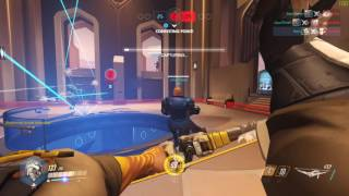 Download New Overwatch Map Oasis Hanzo Gameplay Video