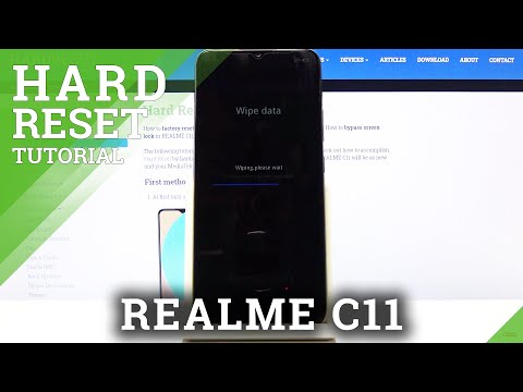 How to Hard Reset REALME C11 – Bypass Fingerprint by Recovery Mode