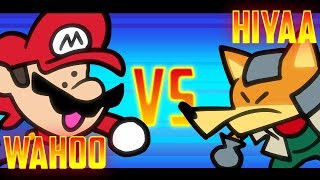 Download Speedrunner Mario VS Melee Fox - 1M Subscriber Special! - SOMETHING VERSUS 🍄🦊 Video