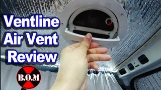 Download Ventline VanAir Roof Vent Review (DIY CamperVan) Tiny House Van Video
