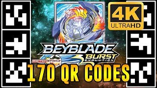 Download 170 QR CODES BEYBLADE BURST APP EM 4K! BEYBLADE BURST EVOLUTION QR CODES Video