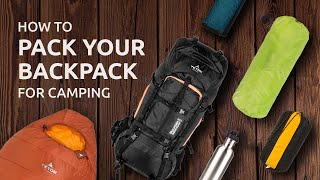 Download How to Pack Your Backpack for Camping Video