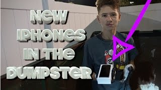 Download Finding New Iphones While Dumpster Diving Video