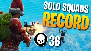 Download 36 KILLS SOLO vs. SQUADS Personal Record (Fortnite Battle Royale) Video