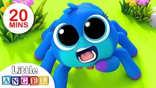 Download Itsy Bitsy Spider, Finger Family Peekaboo, Baby Panda Healthy Habits, Nursery Rhymes by Little Angel Video