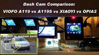 Download review: Viofo A119S VS A119 VS OPIA2 VS XiaoYi - Extreme test 1440p // IMX291 vs OV4689 vs AR0230 Video