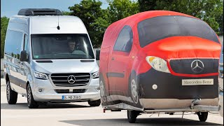 Download 2019 Mercedes Sprinter - Passenger-Car Safety And Assistance Systems Demonstration Video