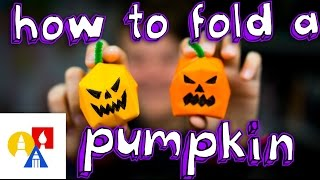 Download How To Make An Origami Water Bomb Pumpkin Video