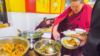 Download TIBETAN CHINESE Street Food Tour in REMOTE China! YAK SASHIMI, TEMPLE FOOD, + UNKNOWN Street Foods Video