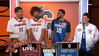 Download NBA Stars Play College Knowledge - Kentucky vs. Stanford Video