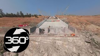 Download Oroville Spillway 360 Flyover August 10, 2018 Video