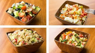 Download 4 Healthy Salad Recipes For Weight Loss | Easy Salad Recipes Video