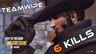 Download Overwatch: Teamwipe as Mccree - Sixtuple kill POTG Video